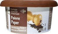 Fromage à tartiner Poivre - Produit - fr