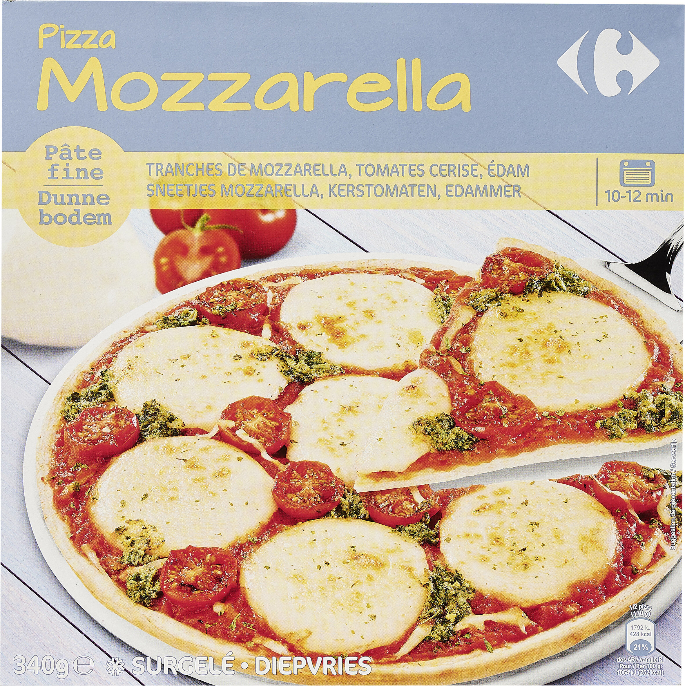 Pizza Mozzarella - Producte - es