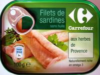 Filets de sardines (aux herbes de Provence) - Product