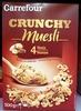 Crunchy muesli - Pépites croustillantes - Product