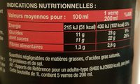Bocal 1L Nectar Goyave Saxo - Ingredienti - fr