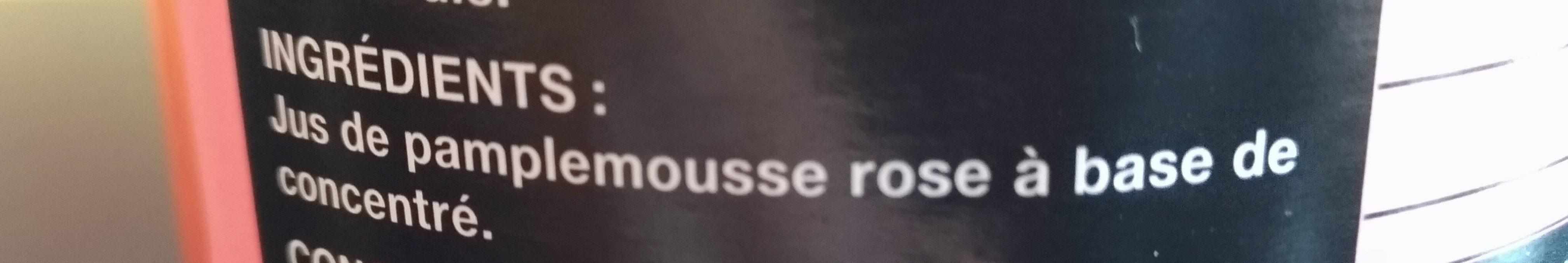 Bocal 1L Jus Pamplemousse Saxo - Ingredienti - fr