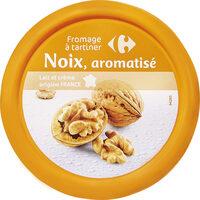 Fromage à tartiner Noix, aromatisé - Produit - fr