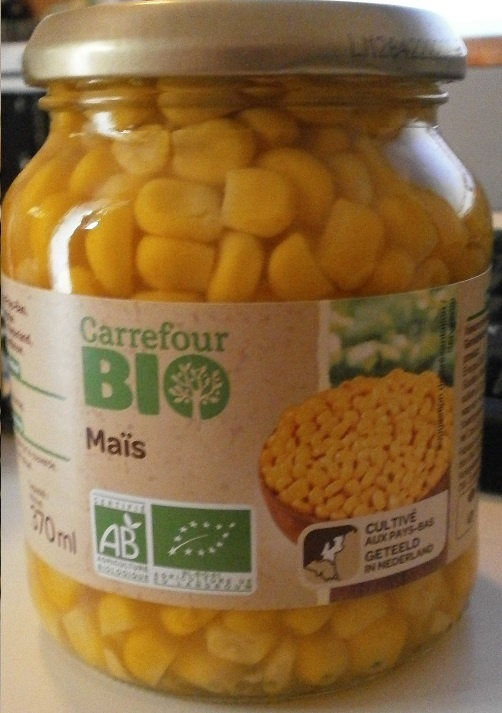 Maïs - Produit