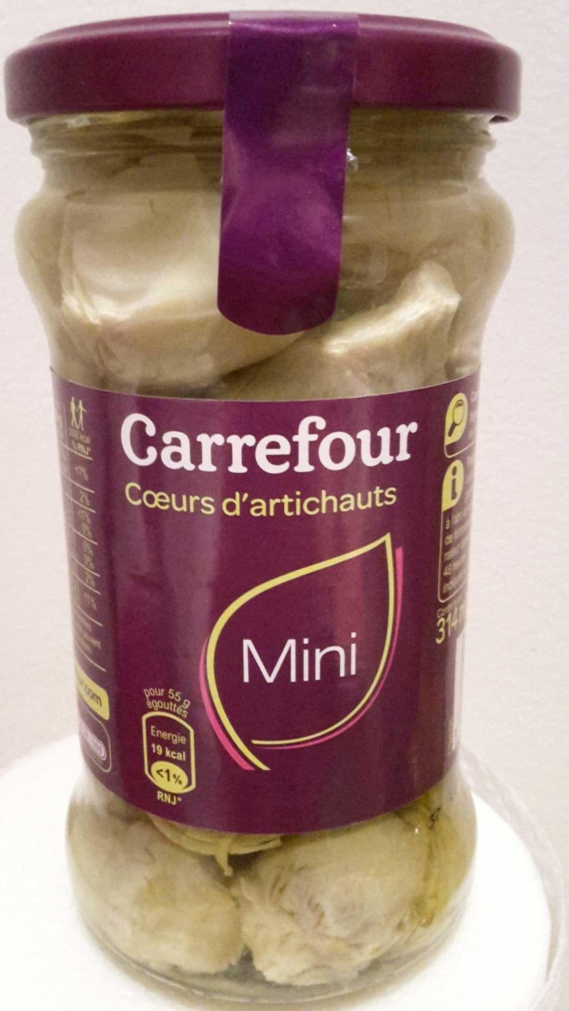 Carrefour Mini Coeurs d'Artichauts - Producte