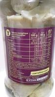 Carrefour Mini Coeurs d'Artichauts - Informació nutricional