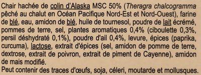20 Croquettes de poisson - Ingrédients - fr