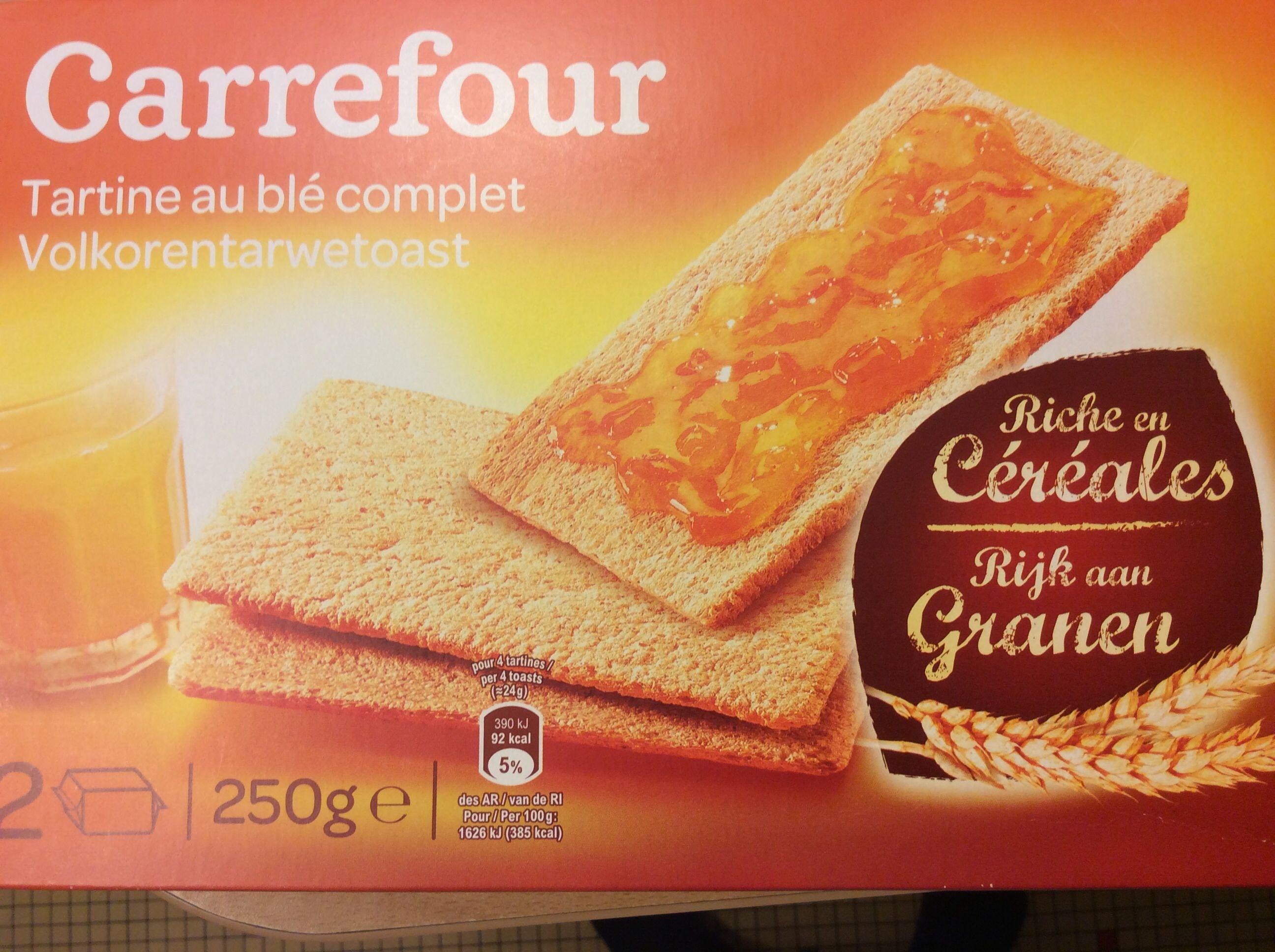 Tartine au blé complet - Product - fr
