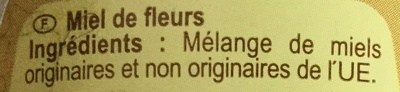 Miel - Doux-Zacht - Ingrediënten - fr