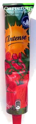 Double Concentré de tomates (28%) l'Intense - Product