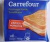 Fromage fondu Croque-Monsieur (22 % MG) - Product