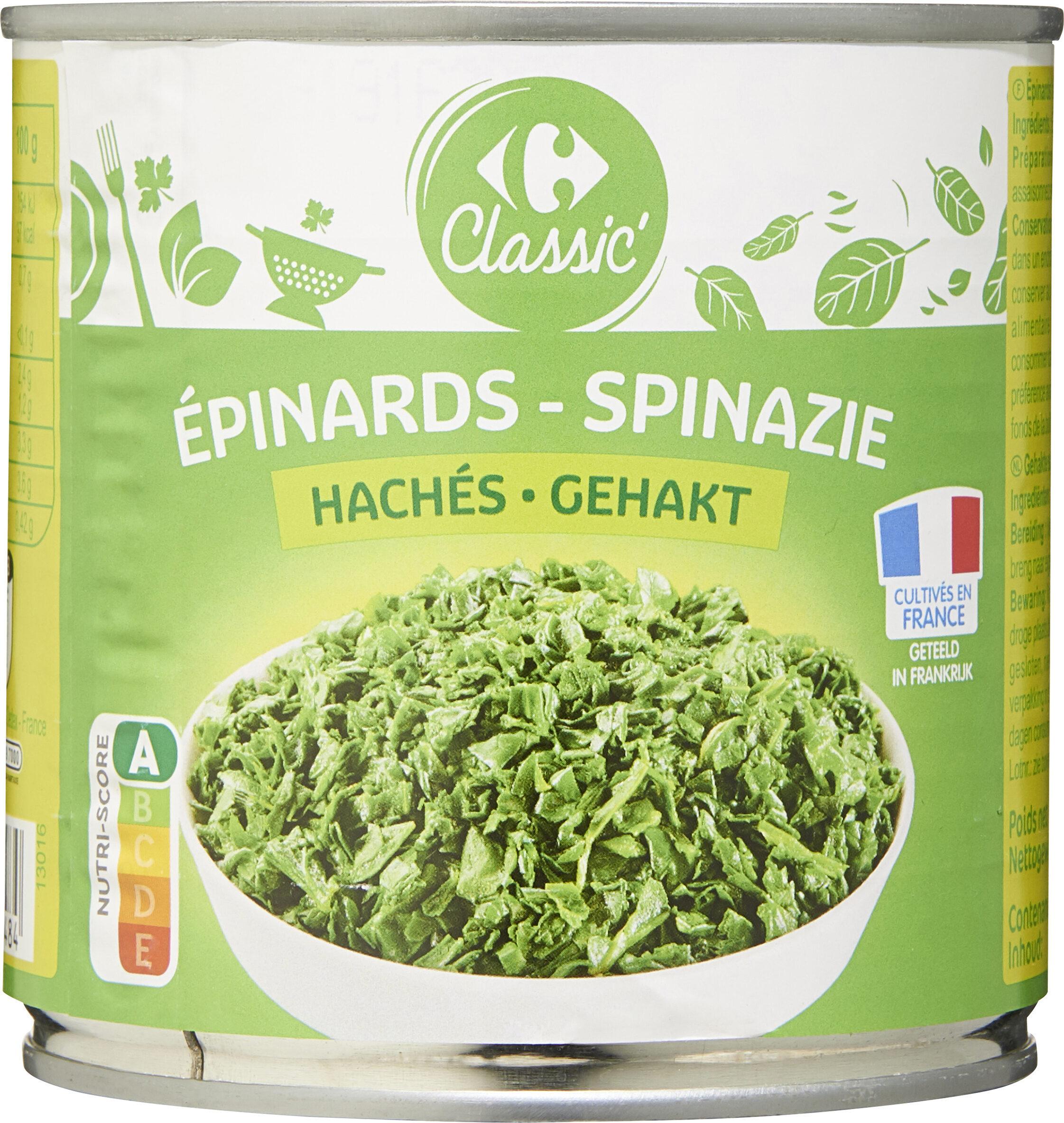 Épinards hachés - Product - fr