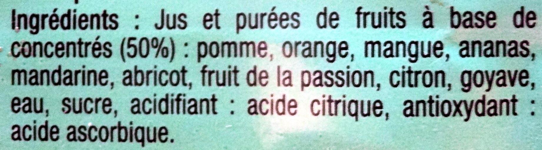 Exotique - Ingrédients - fr