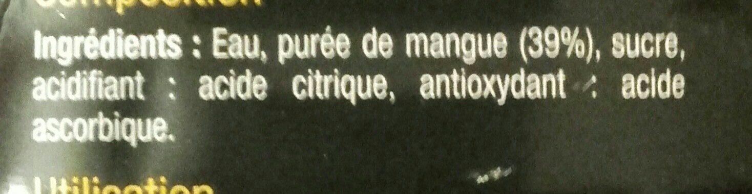 Mangue - Ingrediënten - fr