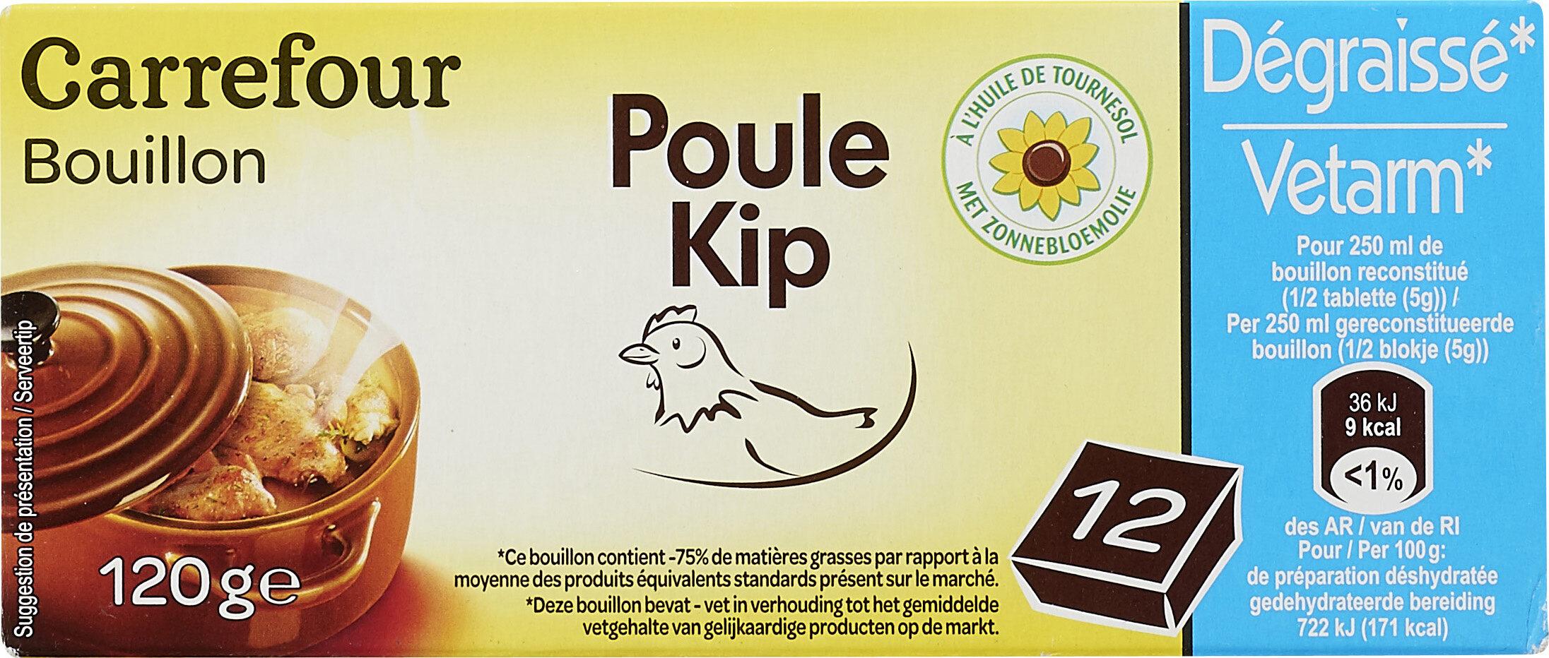Bouillon Goût volaille Dégraissé* - Producto - fr