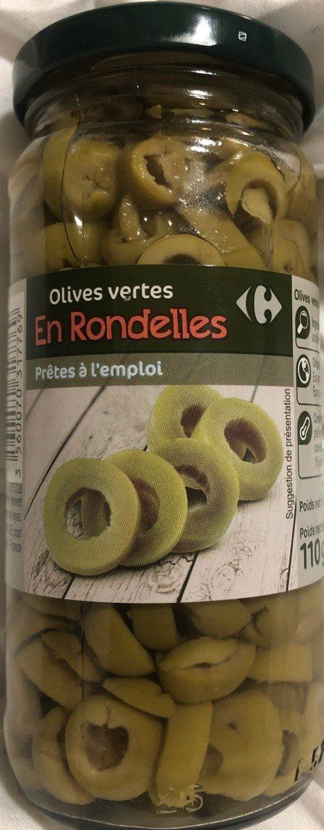 Olives vertes en rondelles - Product