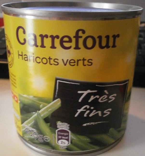 Haricots verts Très fins - Product - fr
