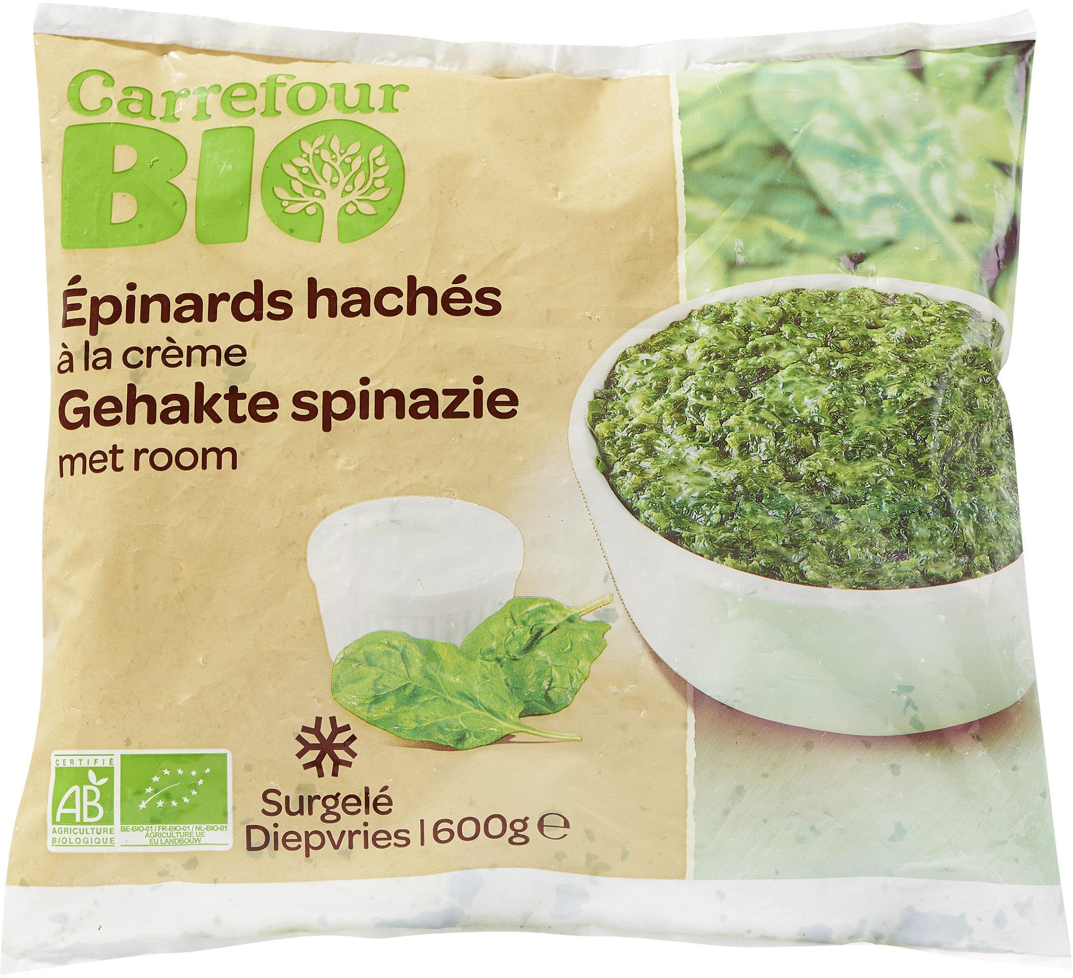 Épinards hachés - Product