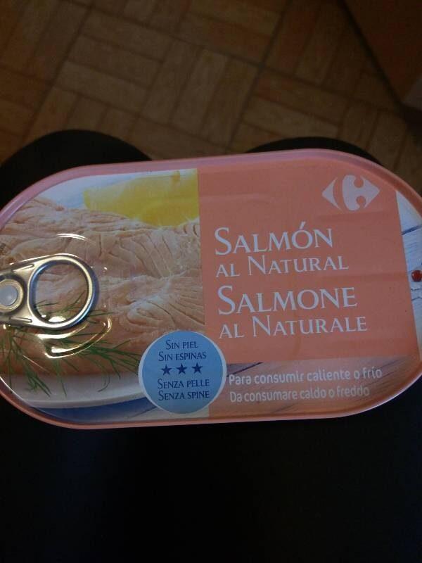 Salmón al natural - Producte - es