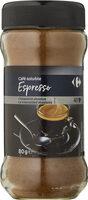 Café soluble espresso - Producto