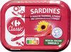 Sardines à l'huile de tournesol et piment - Produit