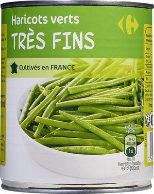 Haricots verts très fins - Produit