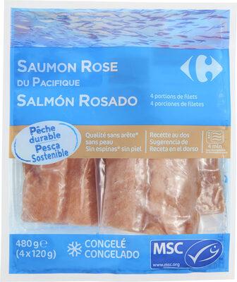 Saumon rose du Pacifique 4 portions de filets - Product - fr