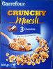 Crunchy Muesli 3 Chocolats - Produit