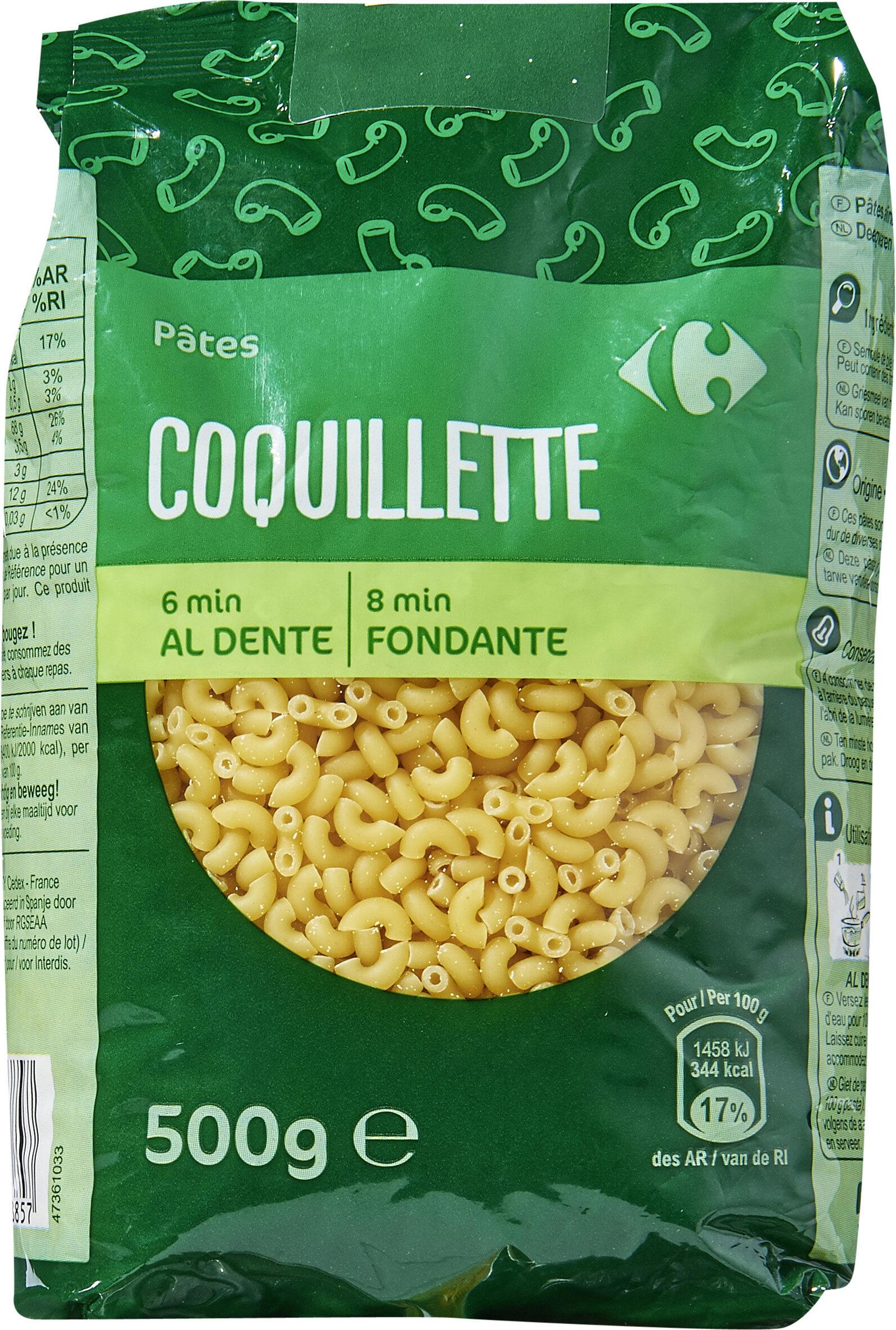 Pasta Coquillettes - Produit - fr