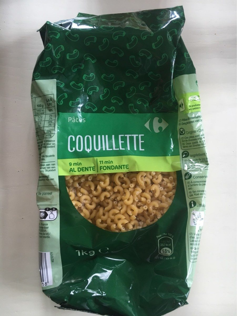Pasta Coquillettes - Product - fr
