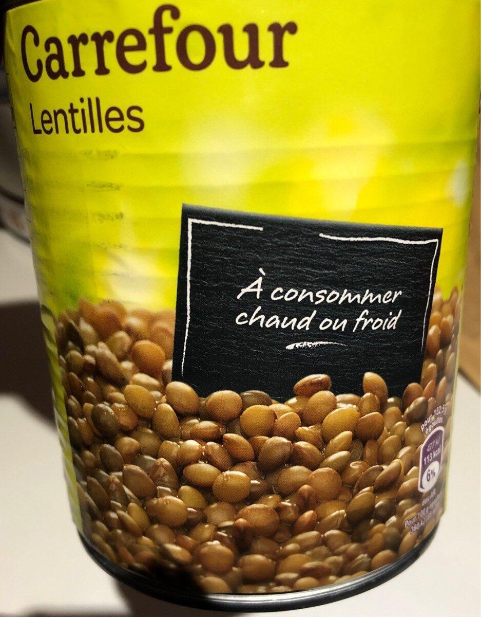 Lentilles - Produit