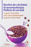 Boules de céréales au goût chocolat - Prodotto - fr