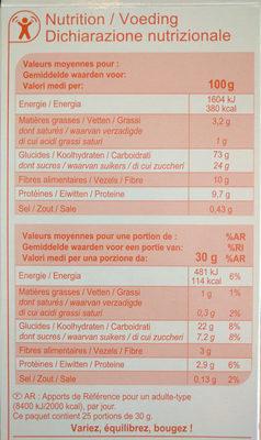 Boules de céréales au goût chocolat - Valori nutrizionali - fr