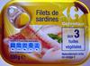 Filets de sardines aux 3 huiles végétales - Produit