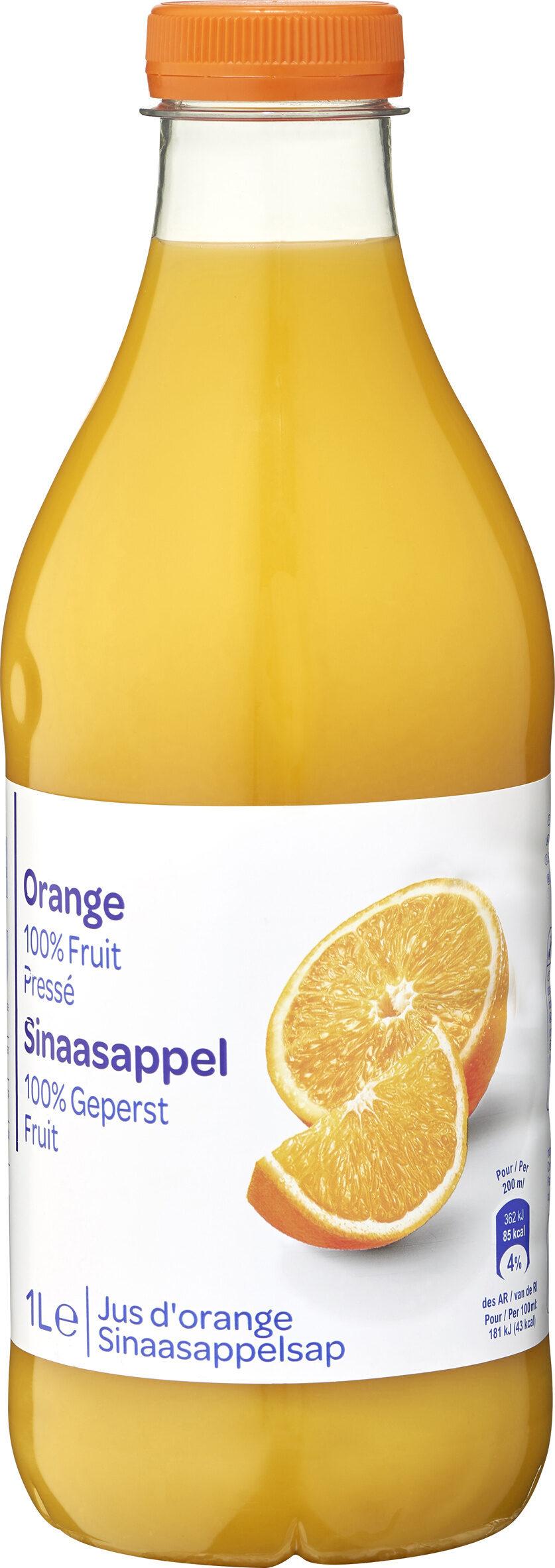 Orange 100% Fruit Pressé - Produit - fr