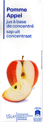Pommejus à base de concentré - Produkt
