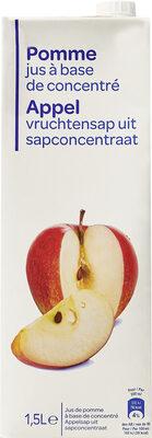 Pomme jus à base de concentré - Produit - fr