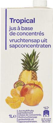 Tropical jus à base de concentrés - Produkt - fr