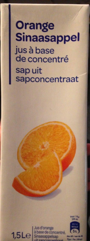 Orange Jus à base de concentré - Produit