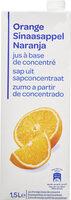 Orange Jus à base de concentré - Produit - fr