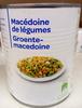 Macédoine de légumes - Produit