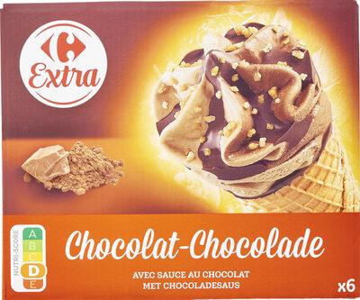 Chocolat avec sauce au chocolat - Produit - fr