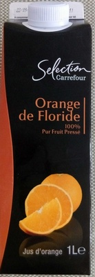 Orange Floride, 100 % Pur Jus Pressé - Product - fr