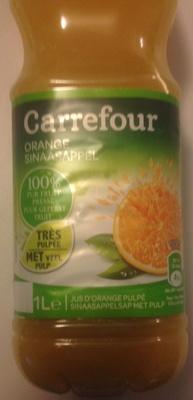 Orange, 100 % Pur Fruit Pressé - Product