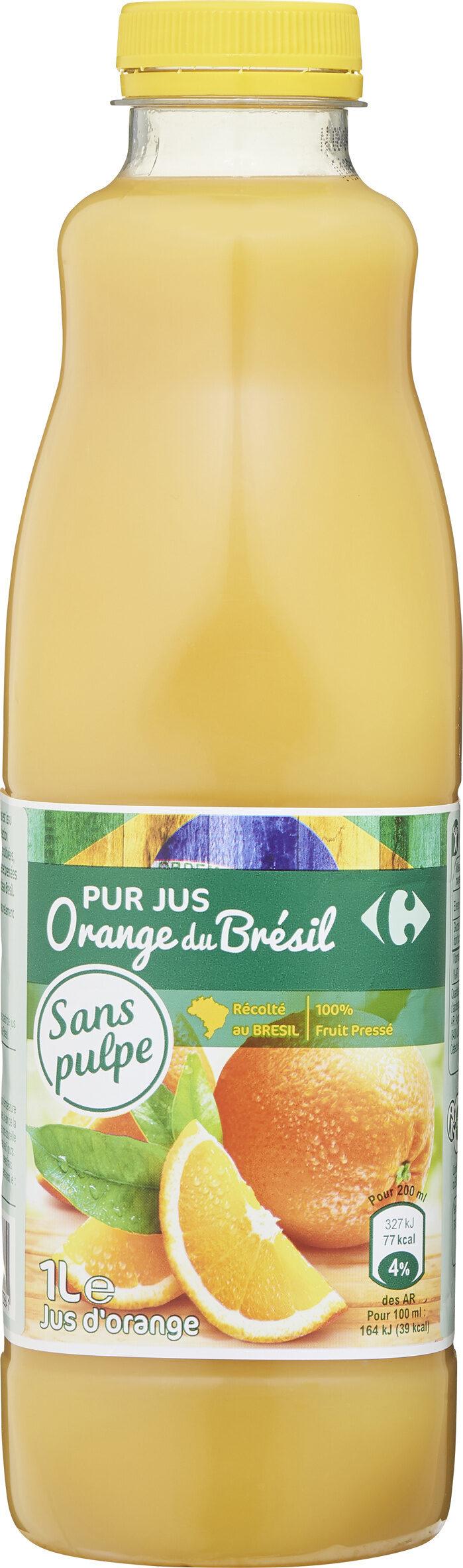 PUR JUS Orange du Brésil - Product - fr