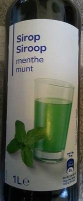 Sirop Menthe - Produkt