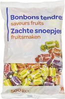Bonbons tendres Saveurs fruits - Product - fr