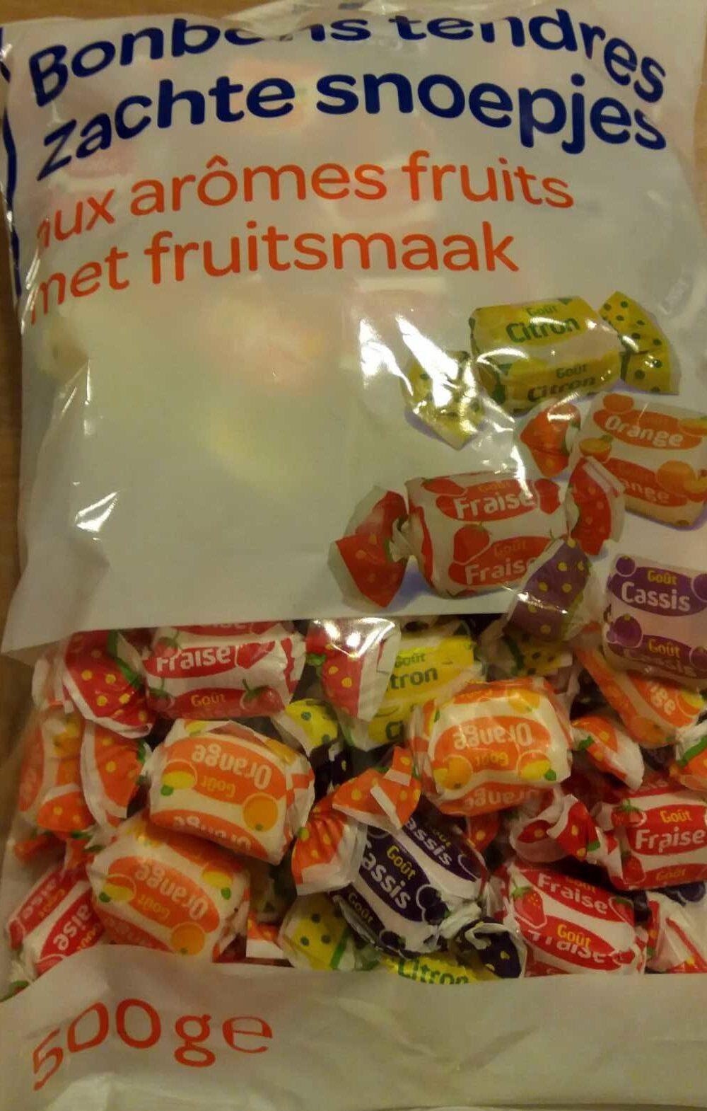 Bonbons tendres Saveurs fruits - Produkt