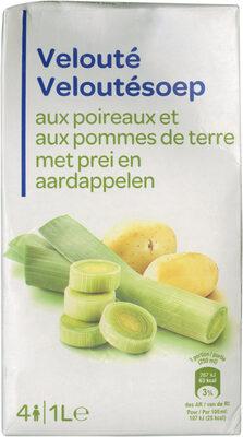 Velouté aux poireaux et aux pommes de terre - Produit - fr