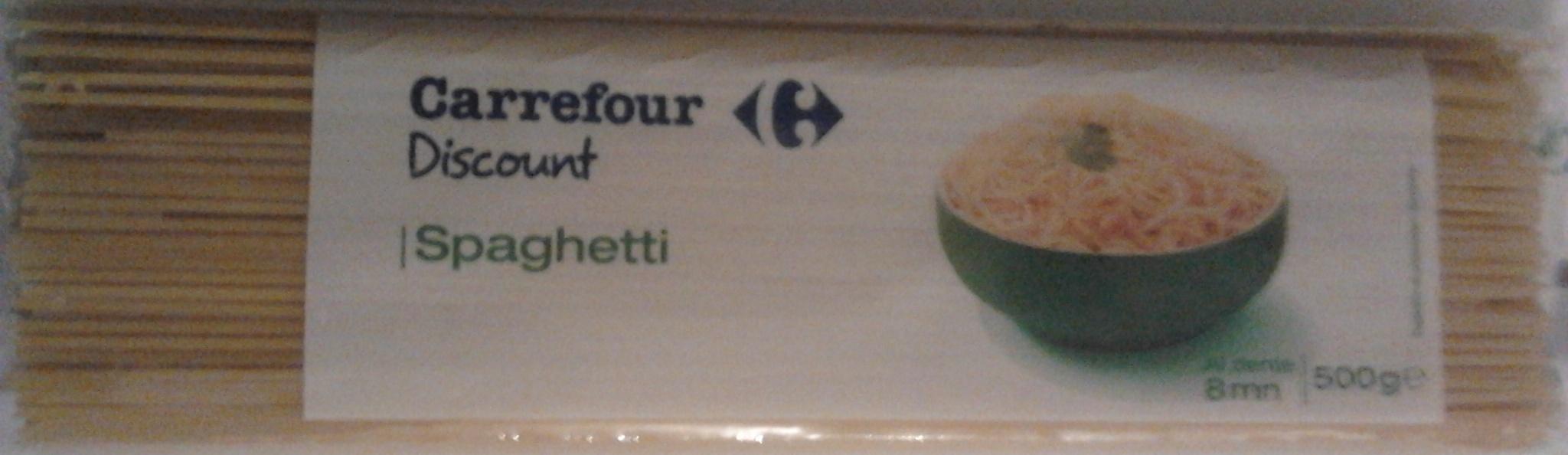 Spaghetti (Al dente 8 mn) - Product - fr